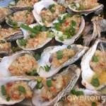海鲜美食:炭烧生蚝3