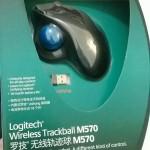 罗技轨迹球鼠标M570
