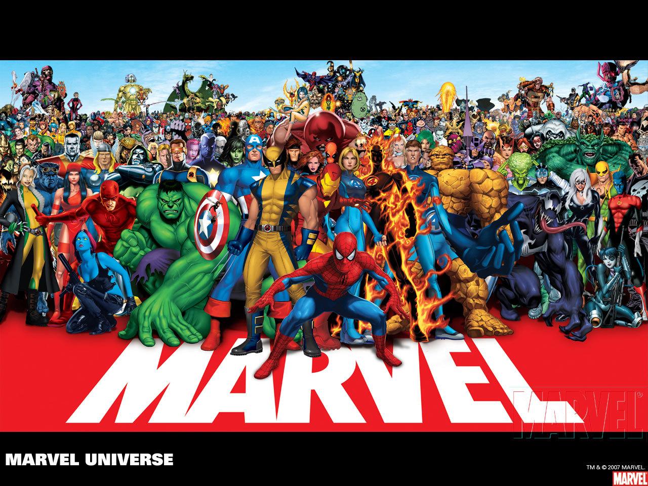 漫威公司超级英雄宇宙